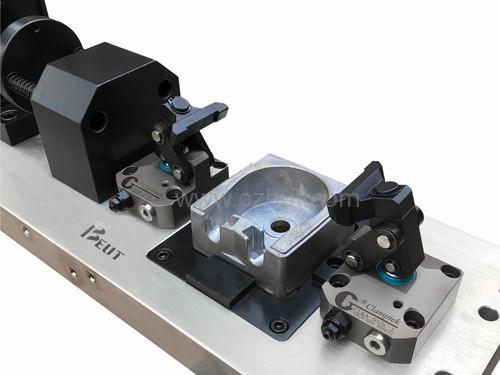 铝合金四轴液压工装