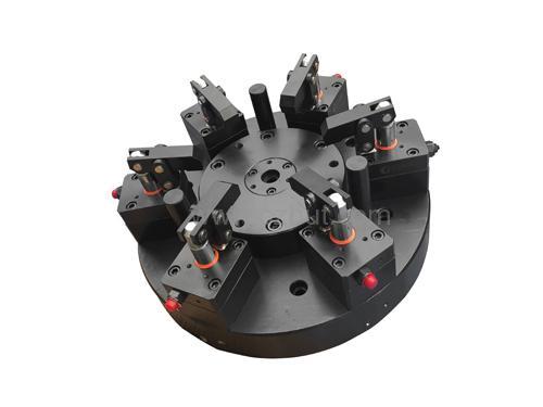 六爪压板式液压夹具