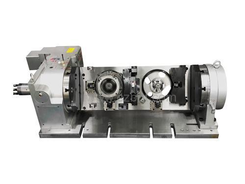 泵壳四轴液压工装夹具